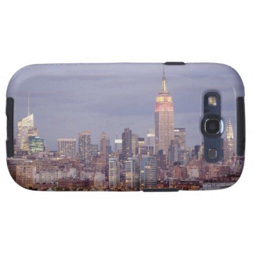 Horizonte de New York City Galaxy SIII Protector