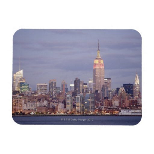 Horizonte de New York City Iman Flexible