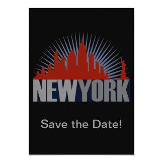 Horizonte de New York City Comunicados Personalizados