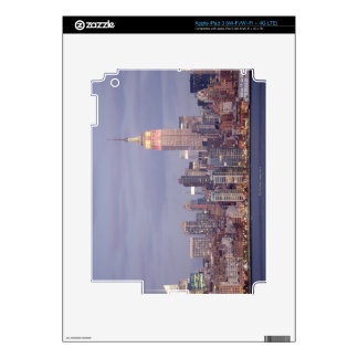 Horizonte de New York City iPad 3 Pegatinas Skins