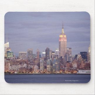Horizonte de New York City Mouse Pads