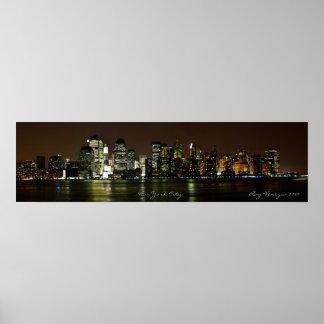 Horizonte de New York City Impresiones
