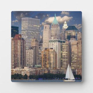 Horizonte de New York City Placas Para Mostrar
