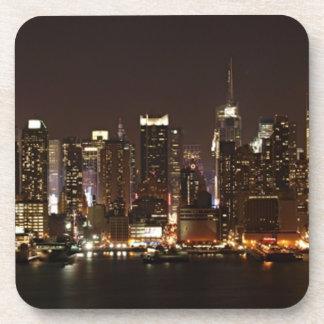 Horizonte de New York City Posavasos
