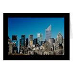 Horizonte de New York City Tarjeta