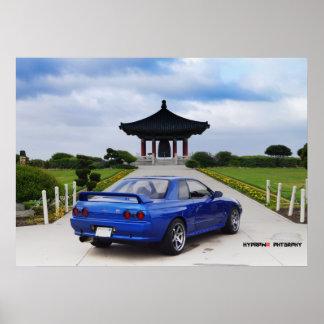 Horizonte de Nissan GT-R R32 del montañés Impresiones