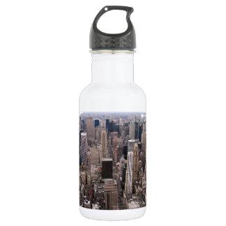 Horizonte de Nueva York Botella De Agua De Acero Inoxidable
