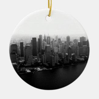 Horizonte de Nueva York Adorno De Reyes