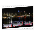 Horizonte de Nueva York en el estado del imperio d Tarjeta Postal