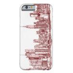 Horizonte de Nueva York Funda De iPhone 6 Barely There