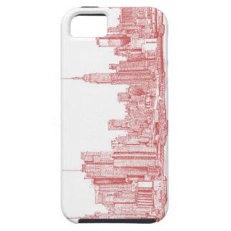 Horizonte de Nueva York iPhone 5 Case-Mate Fundas