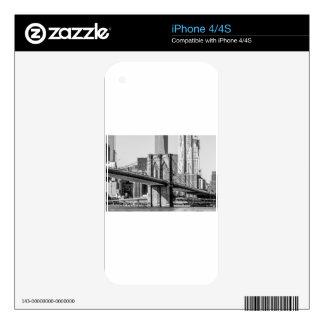 Horizonte de Nueva York iPhone 4S Calcomanías