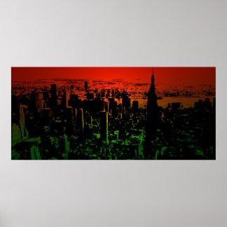 Horizonte de Nueva York Impresiones