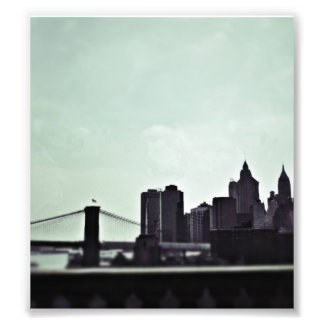 Horizonte de Nueva York Impresion Fotografica