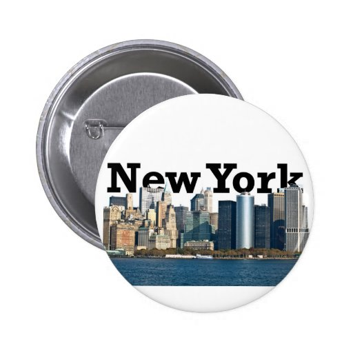 Horizonte de Nueva York Pins