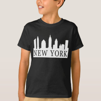 Horizonte de Nueva York Playera