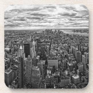 Horizonte de Nueva York Posavasos De Bebida
