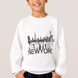 Horizonte de Nueva York Sudadera