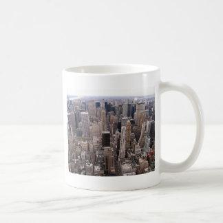 Horizonte de Nueva York Taza De Café