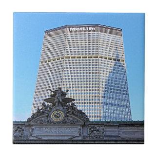 Horizonte de NYC Chrysler que construye la sombra Azulejos Cerámicos