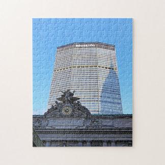 Horizonte de NYC: Chrysler que construye la sombra Puzzles Con Fotos