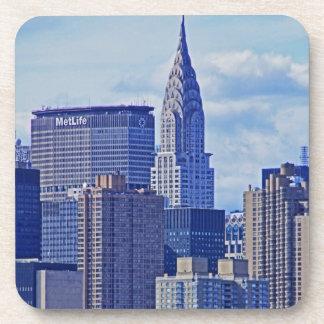 Horizonte de NYC: Construcción de Chrysler, hecha Posavasos De Bebidas