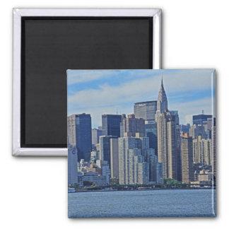 Horizonte de NYC de East River A1 Imán Para Frigorífico