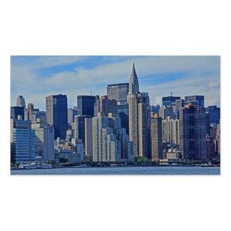 Horizonte de NYC de East River A1 Tarjetas De Visita