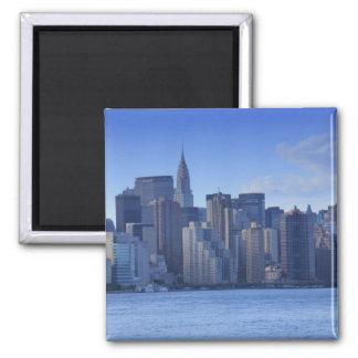 Horizonte de NYC de East River: Chrysler, Imán Cuadrado