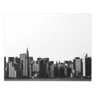 Horizonte de NYC, edificio de Chrysler, opinión #1 Blocs