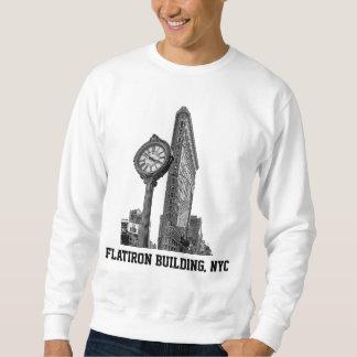 Horizonte de NYC: Edificio y reloj de Flatiron Sudaderas Encapuchadas