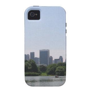 Horizonte de NYC iPhone 4 Funda