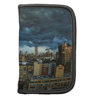 Horizonte de NYC: Nube de tormenta masiva Planificadores