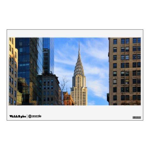 Horizonte de NYC: Opinión del Midtown de la constr