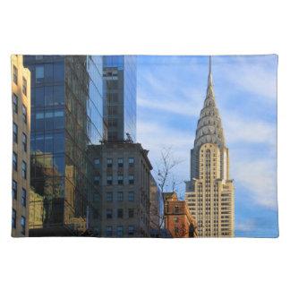 Horizonte de NYC: Opinión del Midtown de la Mantel Individual