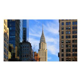 Horizonte de NYC: Opinión del Midtown de la Tarjetas De Visita