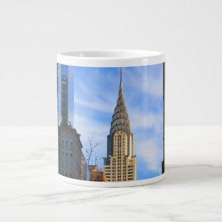 Horizonte de NYC: Opinión del Midtown de la Taza Grande