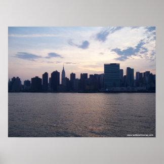 Horizonte de NYC - poster