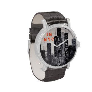 Horizonte de NYC Relojes