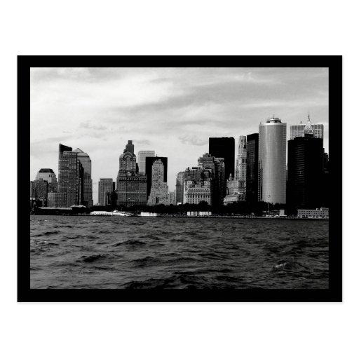 Horizonte de NYC Tarjetas Postales