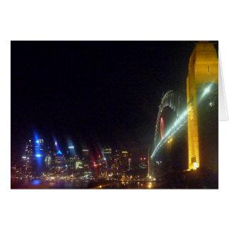 horizonte de o Sydney Tarjeta De Felicitación