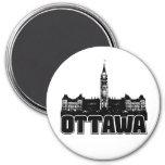 Horizonte de Ottawa Imanes