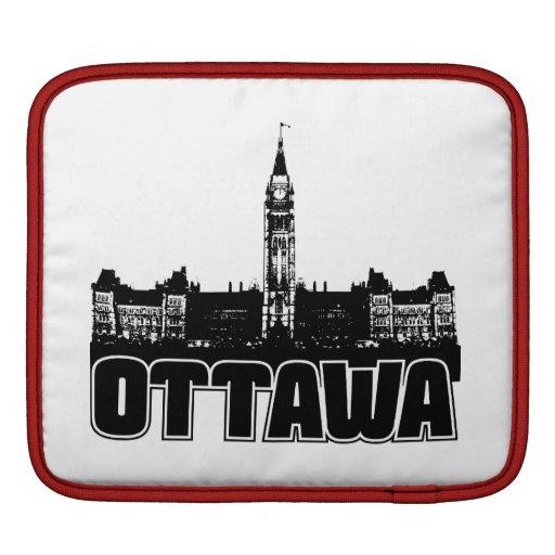 Horizonte de Ottawa Mangas De iPad