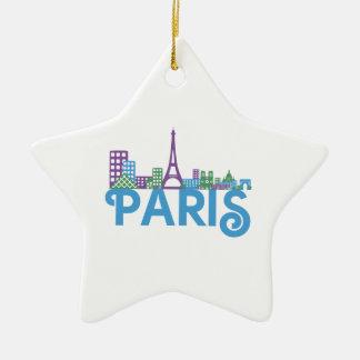 Horizonte de París Ornamente De Reyes