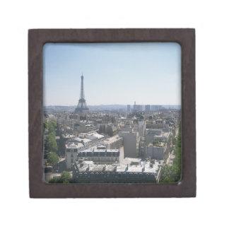 Horizonte de París, Francia Caja De Regalo De Calidad