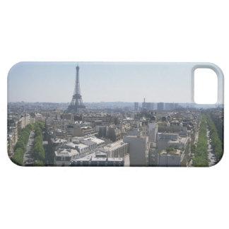 Horizonte de París, Francia iPhone 5 Case-Mate Cárcasa
