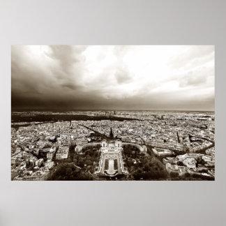 Horizonte de París (ii) Póster
