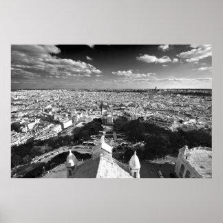 Horizonte de París (iii) Póster