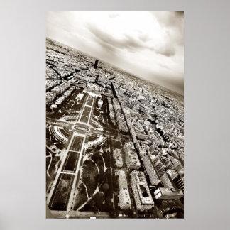 Horizonte de París Póster