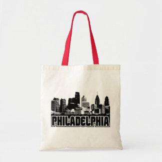Horizonte de Philadelphia Bolsa Lienzo